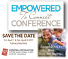 Empowered To Connect - Save The Date - April 2017