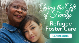 Featured Event - Refugee Foster Care